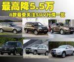 最高优惠5.5万 8款最受关注SUV行情一览