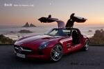 奔驰SLS AMG超级跑车到店 湖南接受预订