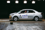C-NCAP碰撞 新威驰以47分获得五星