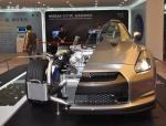 NISSAN战神GT-R解剖车首度亮相哈尔滨车展