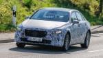奔驰A级三厢轿车路试谍照 搭载全新1.3T发动机 2018年首发