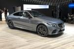 2018纽约车展:新款奔驰C级轿跑亮相 性能进一步提升
