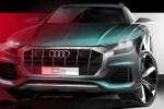 奥迪Q8将于6月5日全球首发 MLB EVO平台打造/旗舰轿跑SUV