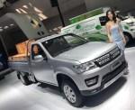 长安神骐F30单排亮相重庆车展  货箱长达3米