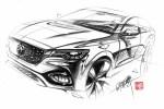 MG全新中型SUV HS将于2018下半年上市 搭1.5T/2.0T动力