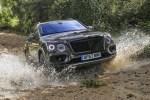 宾利添越V8全路况试驾体验 英伦贵族的野性释放