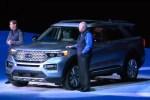 福特全新探险者正式亮相 基于CD6后驱平台打造/造型依旧硬朗