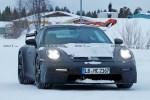保时捷911 GT3雪地测试谍照曝光 或坚持使用自吸发动机