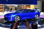 观致四门电动轿跑概念车MILE Ⅱ亮相上海车展