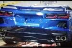 再曝科尔维特C8实车尾部照片!依然很美式