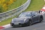 纽北刷圈中 下一代911 GT3纽北最新谍照曝光