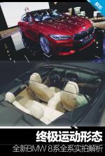 终极运动形态 全新BMW 8系全系实拍解析
