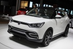 双龙SUV概念车亮相巴黎车展 将搭1.6L动力