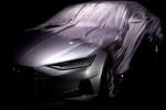 奥迪A9概念车前脸预告图 洛杉矶车展发布