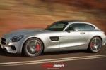 奔驰AMG GT猎装版假想图 暂无量产计划