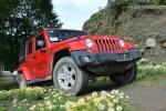 试驾Jeep牧马人2.8TD柴油版 大扭矩硬汉