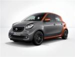 戴姆勒发布Smart ForFour Edition 1车型