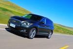 试驾英菲尼迪QX60 Hybrid 7座的混动SUV
