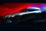 马自达新CX-9预告图发布 洛杉矶车展首发