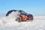 有乐趣的操控小能手 马自达CX-5冰雪体验