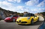 阿尔法罗密欧4C Spider 将亮相日内瓦车展