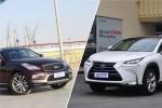 日系豪华品牌SUV德比战  QX50对比NX