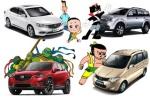 汽车编辑的童趣 为儿时动画明星配个车