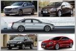2015上半年热销TOP5车型解读 中型车篇