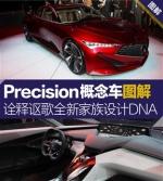 讴歌Precision概念车图解 拉高颜值全靠它