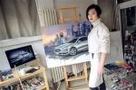 画布上的美式豪华 易车画室之福特金牛座