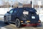 Jeep自由光加长版谍照曝光 或采用7座布局