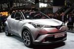 丰田首款小型SUV C-HR亮相2016日内瓦车展