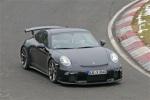 保时捷新款911 GT3谍照 或推6速手动车型