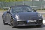 新保时捷911 Targa GTS谍照 搭3.0T发动机