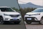 荣威RX5对比锐腾 10万元带T大空间SUV