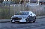 奔驰新款CLS63 AMG路试谍照曝光 动力提升