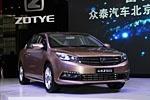 自主中级车添新军 北京车展众泰Z500图解