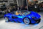 最便宜的迈凯伦敞篷跑车空降广州车展,仅售330万