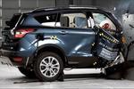 福特翼虎A柱竟然撞折了美国突击检测副驾小面碰撞!