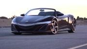 讴歌NSX Roadster敞篷版假想图 有望搭载3.5T V6发动机