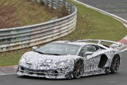 最速大牛纽北刷圈中 兰博基尼Aventador SVJ最新谍照