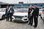 荣威新能源千人交车仪式在京举行 领导专访