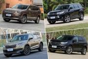 四款7座中型SUV空间对比——丰田 汉兰达