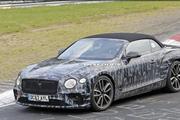 全新一代宾利GT Coupe敞篷版将于11月27日发布 百公里破4秒