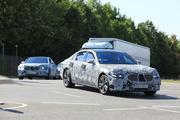 全新一代奔驰S级路试照曝光 造型更新/2020年亮相
