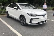 2018广州车展:北汽新能源EU5 R500亮相 续航416公里