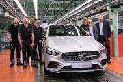奔驰全新B级在德国正式下线 首批车辆将于2019年初交付用户
