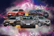 五款热门中型SUV 哪辆车能省出更多奶粉钱?