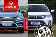 10万级小型SUV/终端差价6千元 荣威RX3对比广汽传祺GS3