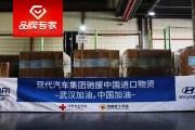 北京现代捐百万元防护物资助力京鄂防疫青年突击队